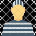 Arrested Inmate Prisoner Icon