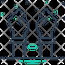 Arrested Bracelet Manacles Icon