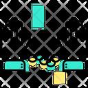 Chain Police Handcuffs Icon
