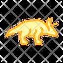 Arrhinoceratops Dinosaur Color Icon