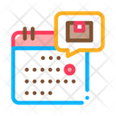 Date Sending Arrival Icon