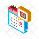 Airplane Application Arrival Icon