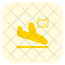 Arrival Flight Scheduled Flight Scheduled Flight Booking Icon