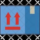 Box Parcel Warning Icon