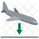 Arriving Flight Plane Airport Icon
