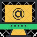 Arroba Screen Sign Icon
