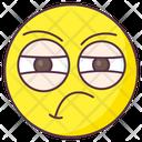 Arrogant Emoji Arrogant Expression Emotag Icon