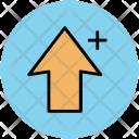 Arrow Key Plus Icon