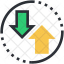 Arrow Outbox Up Icon