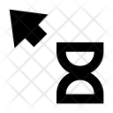 Arrow Hourglass Pointer Icon