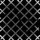 Arrow Graph Progress Icon