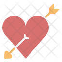 Arrow Heart Love Icon