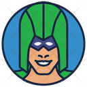 Green Arrow Warrior Superhero Icon
