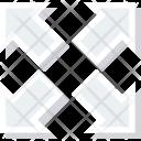Arrow Arrows Four Icon