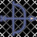 Bow Hunt Archery Icon