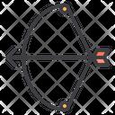 Arrow Archer Bow Icon