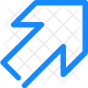 Arrow Up Upper Icon