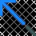 Arrow Long Upper Icon