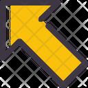 Arrow Upper Left Icon