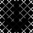 Arrow Circle Descend Icon