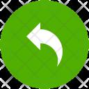 Arrow Blue Previous Icon