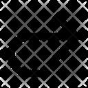 Arrow Diagonal Right Icon