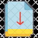 Multiple File Arrow Icon