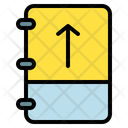 Note Arrow Up Icon