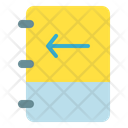 Left Sign Notes Icon
