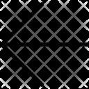 Arrow Direction Left Icon