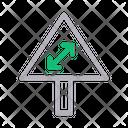 Arrow Sign Board Icon