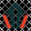 Arrow Up Motion Icon