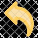 Arrow Previous Reply Icon