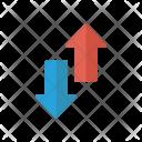 Upload Arrow Download Icon