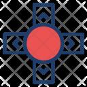 Arrow Control Chevron Icon