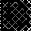Arrow File Zip Icon