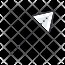 Arrow Top Corner Icon
