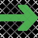 Wide Head Arrow Icon