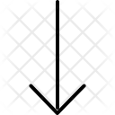 Arrow Down Download Icon