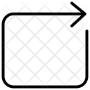 Return Right Icon