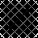 Arrow Diagonal Double Icon