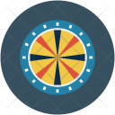 Arrow Bullseye Darts Icon