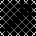 Arrow Line Shape Icon