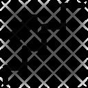 Arrow Step Up Icon