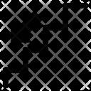 Arrow Step Down Icon