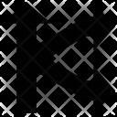 Arrow Join Skip Icon