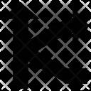 Arrow Directions Skip Icon