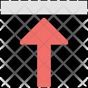 Arrow Key Up Icon