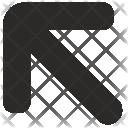 Arrow Top Left Icon