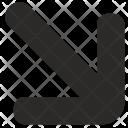 Right Bottom Arrow Icon
